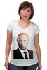 """Футболка для беременных """"Путин-Арт"""" - россия, путин, президент, кремль, ввп"""