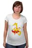 """Футболка для беременных """"Лиса-краса """" - мода, любимой, подарок, красавица, хвост, маме, fox, лиса, бусы, горох"""