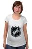 """Футболка для беременных """"Национальная Хоккейная Лига"""" - хоккей, nhl, нхл, национальная хоккейная лига, national hockey league"""