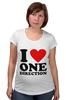 "Футболка для беременных ""One Direction"" - one direction"