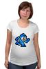 """Футболка для беременных """"Mega Man (8-bit)"""" - 8 bit, capcom, mega man"""