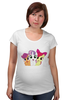 "Футболка для беременных ""cutie mark crusaders"" - pony, applebloom, scootaloo, sweetie, bell, cmc"