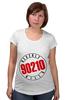 """Футболка для беременных """"90210"""" - 90210, беверли-хиллз 90210, beverly hills"""