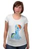 "Футболка для беременных ""my little pony"" - pony, mlp, my little pony, пони, swag"