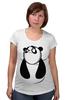 "Футболка для беременных ""Панда (Panda)"" - панда, panda"