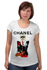"Футболка для беременных ""Chanel"" - прикол, юмор, духи, бренд, fashion, коко шанель, brand, coco chanel, perfume, karl lagerfeld"