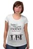 """Футболка для беременных """"Himym"""" - сериал, how i met your mother, himym, как я встретил вашу маму, кяввм"""