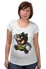 "Футболка для беременных ""Batman x Mario"" - batman, бэтмен, mario, марио"