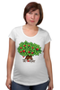 """Футболка для беременных """"iCalistini The Love Tree Дерево Любви"""" - счастье, дерево счастья, дерево любви"""