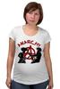 "Футболка для беременных ""Punks Not Dead"" - панк, anarchy, анархия, панк рок, punks not dead"