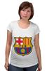 "Футболка для беременных ""Барселона"" - футбол, клуб, barcelona, барселона, испания, football club"
