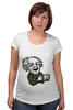 "Футболка для беременных ""Эйнштейн"" - арт, albert einstein, физика, эйнштейн, scientist"