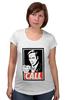 "Футболка для беременных ""Call Saul"" - obey, breaking bad, better call saul, лучше звоните солу, сол гудман"