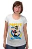 "Футболка для беременных ""Спортзал Попайя"" - popeye, gym, попай, моряк попай, фитнес клуб"