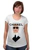 "Футболка для беременных ""Chanel"" - fashion, шанель, karl lagerfeld, карл лагерфельд"