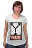 """Футболка для беременных """"Flux Capacitor (Назад в Будущее)"""" - назад в будущее, obey, back to the future, flux capacitor"""