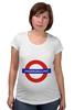 """Футболка для беременных """"Underground"""" - арт, стиль, рисунок, london, метро, uk, metro, метрополитен, подземка"""