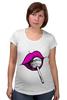 """Футболка для беременных """"pink lips"""" - арт, губы, pink, розовый, чупа-чупс, lips, леденец, lolipop"""