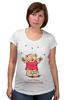 """Футболка для беременных """"Happy Valentnine's Day"""" - bear, медведь, мишка, обними меня, hug me"""