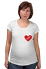 "Футболка для беременных ""heart"" - heart"