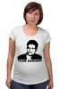 "Футболка для беременных ""Edward Snowden"" - edward snowden, америка, россия, цру, эдвард сноуден"