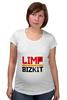 """Футболка для беременных """"Limp Bizkit"""" - limp bizkit, lb, wes borland, fred durst"""