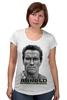 """Футболка для беременных """"Arnold Schwarzenegger"""" - кино, arnold schwarzenegger, терминатор, terminator, арнольд шварценеггер"""