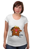 "Футболка для беременных ""The Angry Beavers"" - бобер, бобры, крутые бобры, the angry beavers"