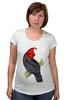 """Футболка для беременных """"Попугайчик"""" - арт, дизайн, птицы, природа, попугай"""