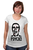 "Футболка для беременных ""American psycho(Американский психопат)"" - американский психопат, patrick bateman, american psycho, патрик бэйтман"