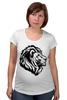 """Футболка для беременных """"proud lion """" - лев, lion"""