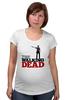 "Футболка для беременных ""The Walking Dead"" - зомби, ходячие мертвецы, the walking dead, рик граймс, rick grimes"
