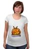 "Футболка для беременных ""Helloween"" - хэллоуин, helloween"