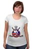 """Футболка для беременных """"Нью-Йорк Айлендерс """" - хоккей, nhl, нхл, нью-йорк айлендерс, new york islanders"""