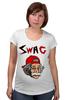 """Футболка для беременных """"Art Swag"""" - style, swag, свэг, эйнштейн, einstein"""