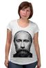 """Футболка для беременных """"ВВП с бородой"""" - путин, борода, putin, beard"""