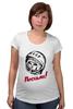 """Футболка для беременных """"Гагарин"""" - 1 мая, первомай, gagarin, юрий, день космонавтики, 12 апреля"""