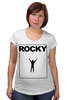 "Футболка для беременных ""Rocky Balboa"" - рокки, rocky, сильвестр сталлоне, sylvester stallone, рокки бальбоа"