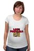 "Футболка для беременных ""Фанаты"" - футбол, фанаты, я люблю футбол, i love football"