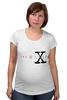 """Футболка для беременных """"X-files"""" - кино, фильмы, x-files, секретные материалы, серилы"""