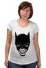 """Футболка для беременных """"Бэтмен и Джокер"""" - joker, batman, джокер, бэтмен"""