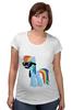 "Футболка для беременных ""My Little Pony - Rainbow Dash (Радуга)"" - радуга, pony, rainbow dash, mlp, пони"