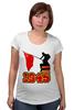 """Футболка для беременных """"1945 флаг"""" - ссср, победа, георгиевская лента, горжусь, помню"""