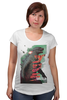 """Футболка для беременных """"Godzilla """" - кино, иероглифы, годзилла, godzilla, kinoart"""