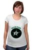 """Футболка для беременных """"Dallas Stars"""" - хоккей, nhl, нхл, даллас старз, dallas stars"""