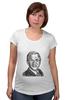 "Футболка для беременных ""Буш Джорж"" - знаменитости, george bush, president"