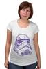 """Футболка для беременных """"Штурмовик """" - космос, star wars, шлем, stormtrooper, десант, штурмовик, стар варс, звёздные воины, воины, штурмовики"""
