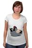 """Футболка для беременных """"Fat Catwoman"""" - catwoman, женщина кошка, обжорство"""