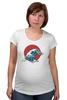 """Футболка для беременных """"Япония"""" - арт, стиль, море, девушке, аниме, япония, japan, цунами, tsunami"""