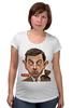 "Футболка для беременных ""Mr.Bean"" - mr bean, rowan atkinson, актёр, мистер бин, роуэн аткинсон"